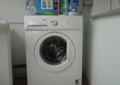Área de servicio: lavadora