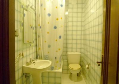 Detalle del baño pequeño