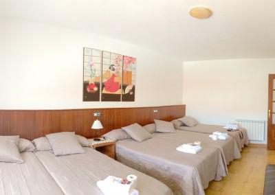 Habitación de 5 camas