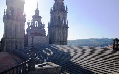 Las cubiertas de la Catedral de Santiago son realmente impresionantes ¡No te las pierdas!
