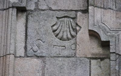 Las marcas de propiedad en las casas de la ciudad Compostelana
